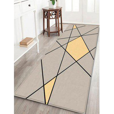 Lines and Colors Pattern Indoor Outdoor Area Rug