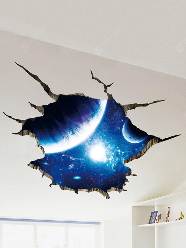EARTH BLUE, Home & Garden, Home Decors, Wall Art, Wall Stickers