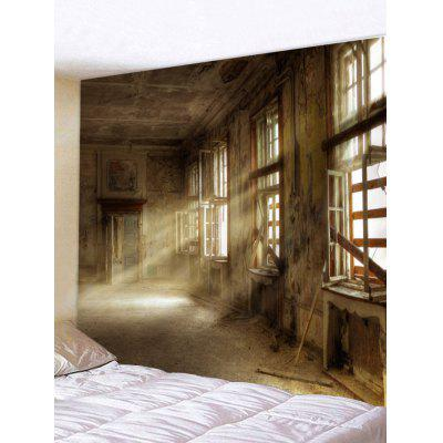 Sun Through Old Windows House Print Tapestry