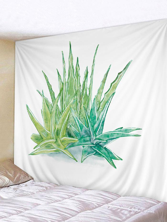 Aloe Plants Printed Wall Art Tapestry