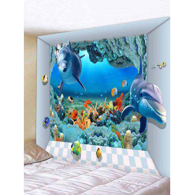 World of Sea Pattern Tapestry