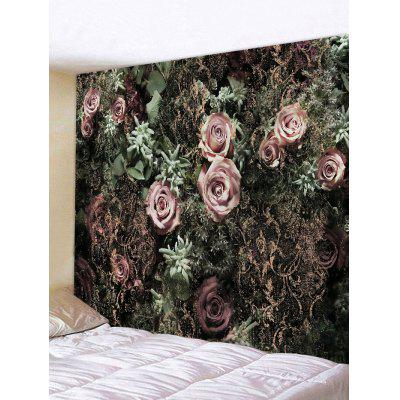 Romantic Rose Pattern Tapestry