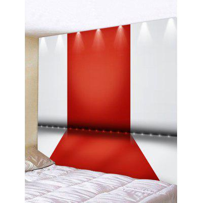 Spotlight Red Carpet Pattern Tapestry