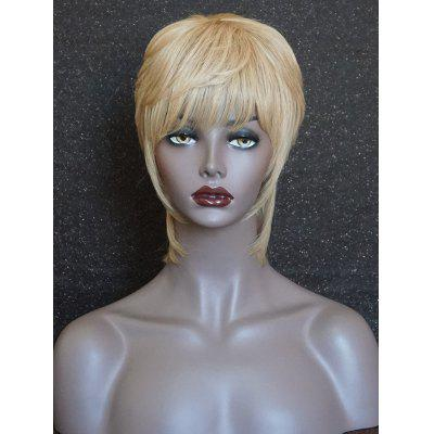 Short Side Bang Layered Straight Party Human Hair Wig erem bilensoy cyclodextrins in pharmaceutics cosmetics and biomedicine current and future industrial applications isbn 9780470926802