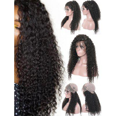 Long Free Part Deep Curly Wave Lace Front Synthetic Wig