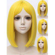 Medium Center Parting Straight Bob Land of the Lustrous Cosplay Wig