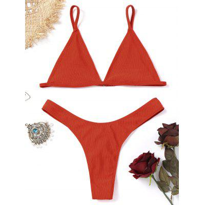 Unlined Thong Bathing Suit