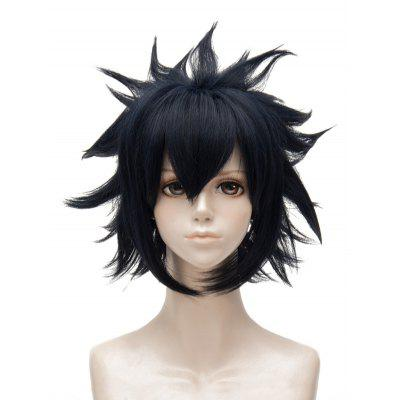 Short Side Bang Straight Tail Outside Anime Aotu World Ray Cosplay Synthetic Wig