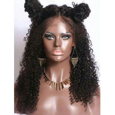 Long Middle Part Curly Lace Front Synthetic Wig