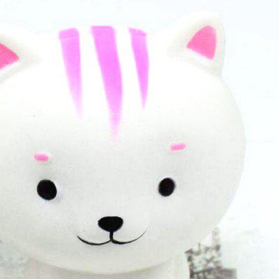 Simulación de gato PU Slow Rising squishy Animal Toy