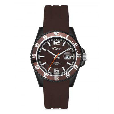 InTimes Classic Water Resistant Quartz Watch