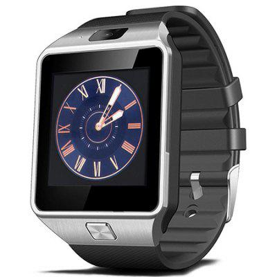 DZ09 Bluetooth Smart Watch with Pedometer Camera Single SIM