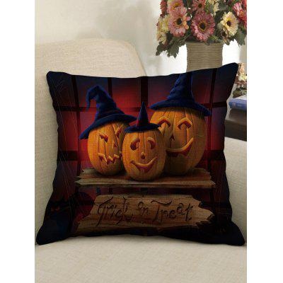 Halloween Pumpkins Printed Pillow Case
