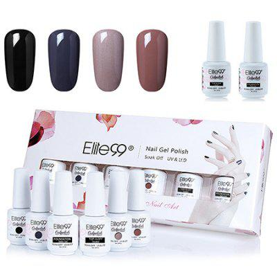 4 Colori Dei Colori UV UV Soffi Impostare l'Elite99 Gel Nail Polish Set