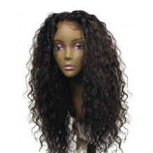 Center Parting Long Water Wave Synthetic Wig