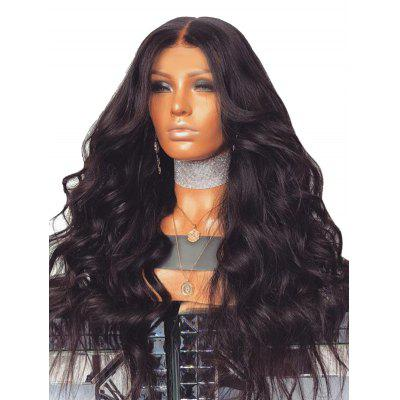 Long Center Parting Body Wave Party Heat Resistant Synthetic Wig