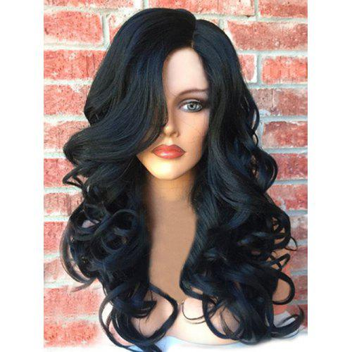 Long Side Part Fluffy Wavy Synthetic Wig -  28.37 Free Shipping ... 0fc1cb43551a