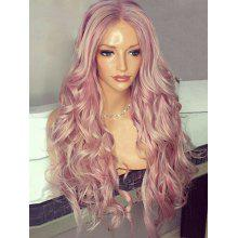 Long Center Parting Fluffy Wavy Synthetic Wig