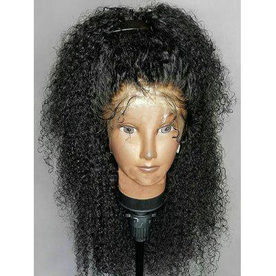 Long Shaggy Curly Lace Front Synthetic Wig