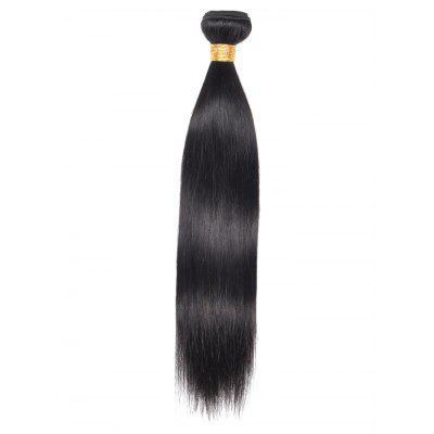 1Pc Straight Real Human Hair Weave