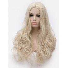 Long Center Parting Wavy Lolita Party Synthetic Wig