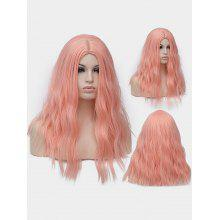 Long Center Parting Natural Wavy Party Cospaly Synthetic Wig