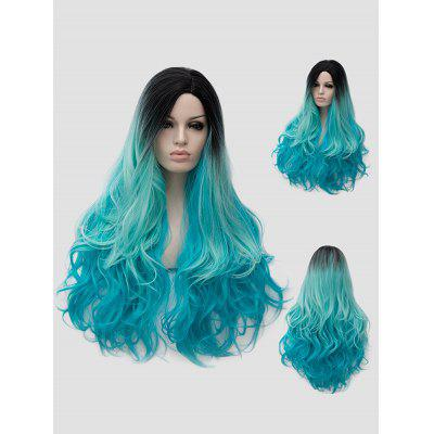 Halloween Christmas Party Long Wavy Synthetic Wig