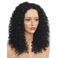 Center Parting Synthetic Medium Curly Wig
