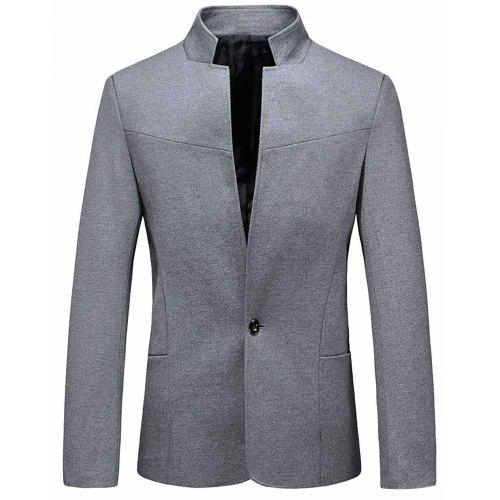 YOUTHUP Mens Suit Jackets Slim Fit Casual Blazer Classic Blazers Coat