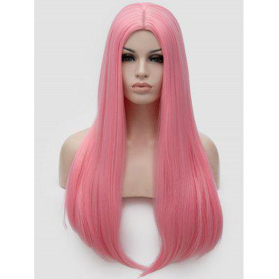 Long Middle Part Straight Party Cosplay Synthetic Wig