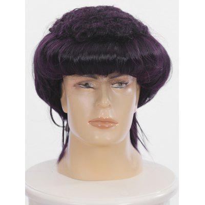 Short Full Bang Straight Cosplay Show Synthetic Wig for Men