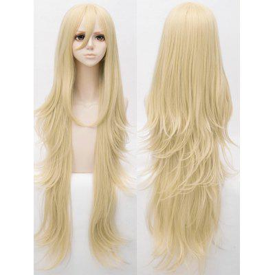Long Slightly Curly Anime Cosplay Synthetic Wig