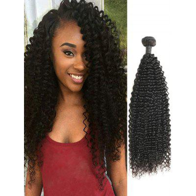 Human Hair Kinky Curly Indian Virgin Hair Weave
