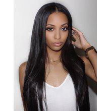 Center Parting Synthetic Long Straight Wig