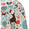 Christmas Print Casual Shirt - MULTI