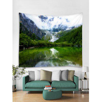 Mountain Lakes Tapestry Art Decoration