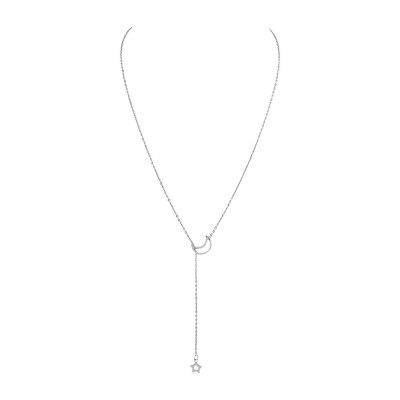 Star Moon Decoration Chain Necklace