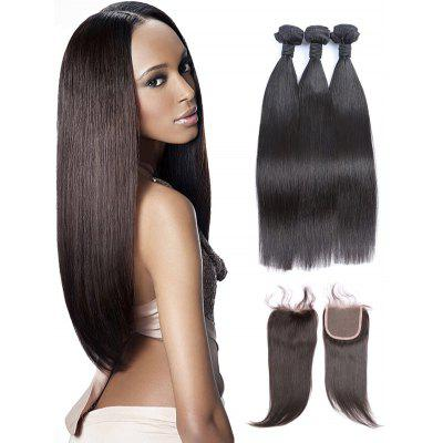 Virgin Human Straight Hair Weaves