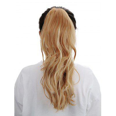 Long Wavy Synthetic Hair Extension Ponytail