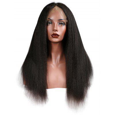 Brazilian Virgin Straight Human Hair Lace Front Wig
