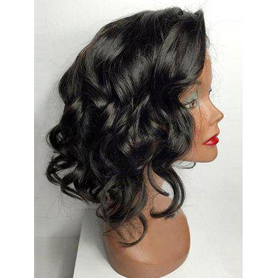 Short Body Wave Party Synthetic Lace Front Wig