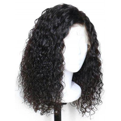 Real Human Hair Curly Lace Front Wig