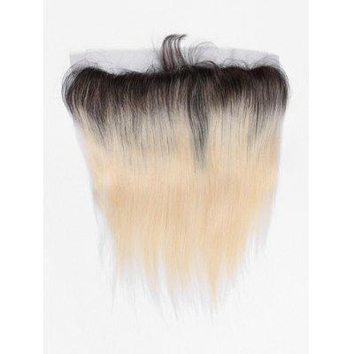 Real Human Hair Ombre Brazilian Virgin Lace Frontal Closure