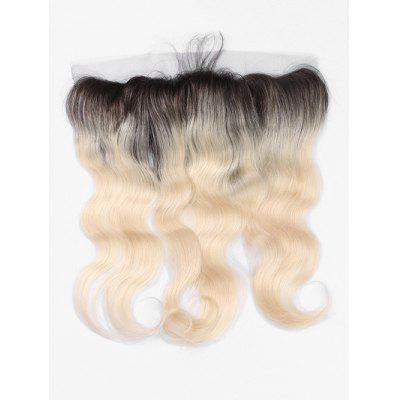 Real Human Hair Ombre Body Wave Lace Frontal Lace Closure