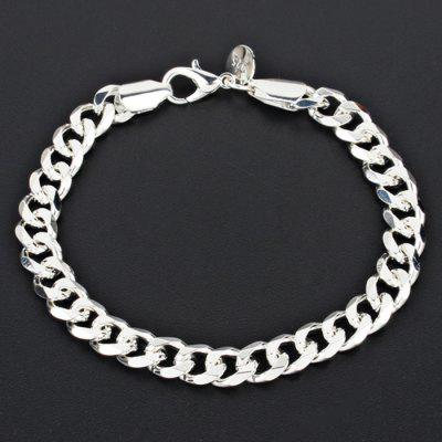 Stylish Alloy Thick Link Chain Bracelet