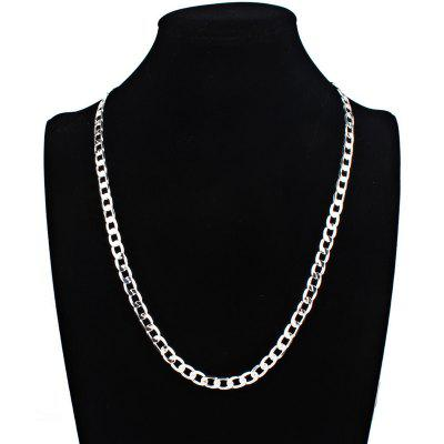 Male Stylish Cool Stainless Steel Chain Necklace