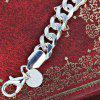 Stylish Alloy Thick Link Chain Bracelet - SILVER