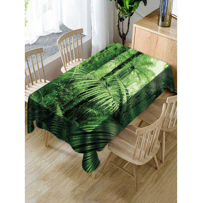 Forest Print Decorative Table Cloth