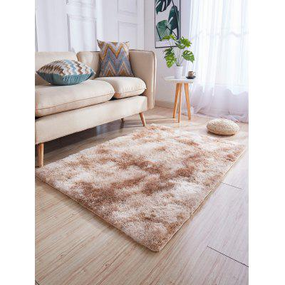 Faux Fur Solid Water Absorption Area Rug