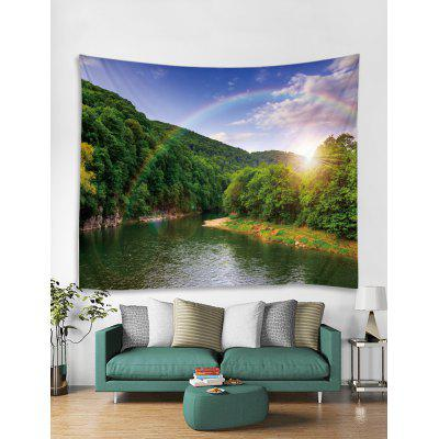 Paisagens Impresso Tapestry Art Decoration
